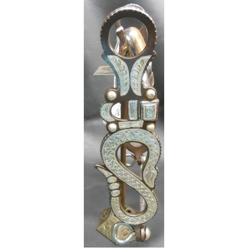 E. Garcia Rattle Snake San Jaoquin Silver Bit