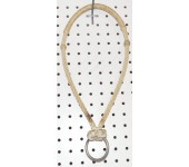 Rawhide Nose Bosal With Tie Down Ring