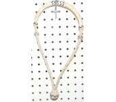 Rawhide Pencil Bosal With Brown Accent