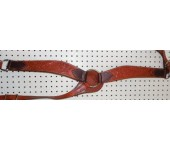Chestnut Color Billy Cook Breast Collar With Flowers Pattern #909