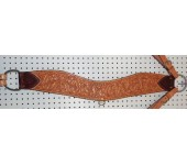 Billy Cook Acorn Tooled Tripping Collar