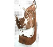 Saddle Barn Cowhide Chinks #2