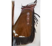 Saddle Barn Cowhide Chinks #1
