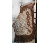 Saddle Barn Cowhide Chinks #3