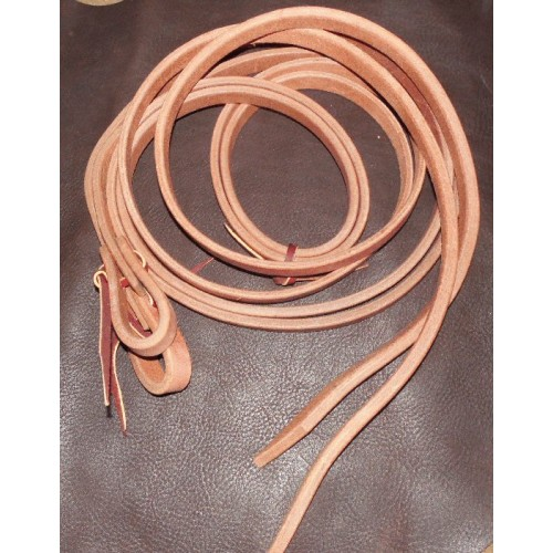 "7/8"" Hermann Oak Extra Heavy Weighted Harness Split Reins"