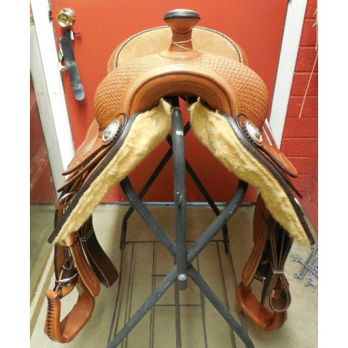 "16"" Bobs Custom Saddle"