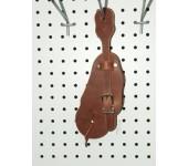 Plain Harness Leather Buckaroo Style Spur Straps