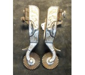 E. Garcia Steer Head Spurs