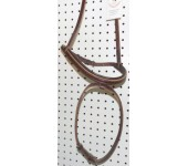 Champion Turf Brown English Drop Noseband
